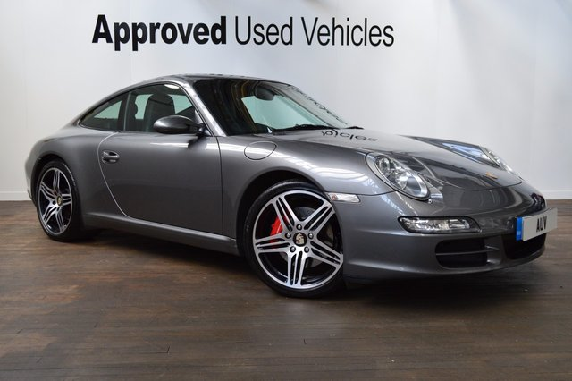 2007 07 PORSCHE 911 MK 997 3.8 CARRERA 2 TIPTRONIC S 2d AUTO 355 BHP
