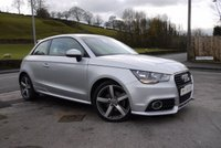 USED 2011 11 AUDI A1 1.6 TDI SPORT 3d NAV AND LEATHER SAT NAV-LEATHER-HEATED SEATS