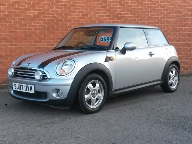 2007 07 MINI HATCH 1.6 COOPER 3d 118 BHP