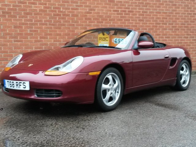 1999 PORSCHE BOXSTER 2.5 SPYDER 2d 204 BHP FULL BLACK LEATHER
