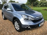 USED 2007 57 HONDA CR-V 2.2 I-CTDI ES 5d 139 BHP PARK ASSIST, CRUISE.