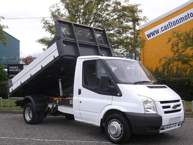 2008 08 FORD TRANSIT 100 T350 Tipper 10.5ft Body Low Mileage DRW Free UK Delivery