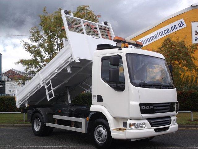 2008 58 DAF 45 SERIES  FA 45.160 E4 [ 3 Way ] Tipper+PTO Underbody Compressor Low mileage Free UK Delivery