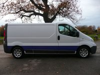 USED 2009 59 RENAULT TRAFIC 2.0 LL29 DCI 115 LWB LC 5d 115 BHP 2 Owners, Full History, Alloy Wheels, Very Clean Van