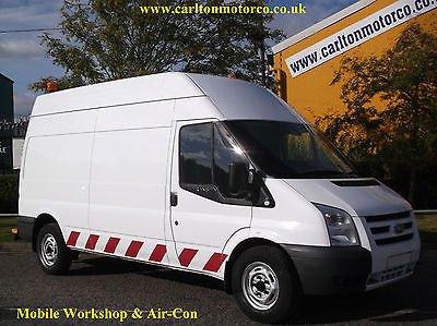 2009 59 FORD TRANSIT 100 T350L High roof [ Mobile Workshop+ A/C ] van Rwd Free UK Delivery