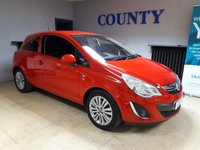 USED 2011 61 VAUXHALL CORSA 1.0 EXCITE AC ECOFLEX 3d 64 BHP * LOW MILEAGE * MUST SEE *