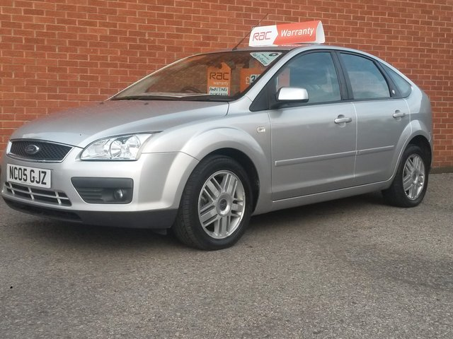 2005 05 FORD FOCUS 2.0 GHIA TDCi 5 Door 136 BHP