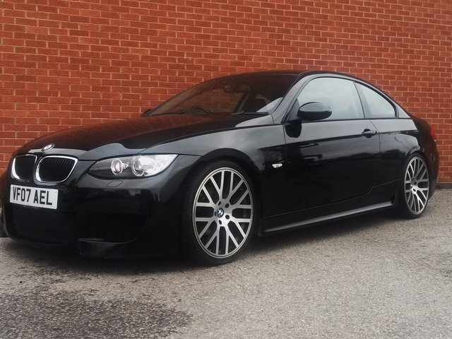 2007 07 BMW 3 SERIES 2.0 320I AUTOVOGUE Ltd Edtn  2d 168 BHP