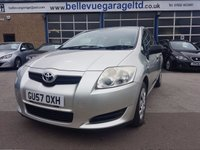 USED 2007 57 TOYOTA AURIS 1.4 T2 VVT-I 5d 96 BHP SUPERB FAMILY HATCHBACK