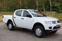 USED 2010 10 MITSUBISHI L200 2.5 DI-D 4X4 4WORK LB DCB 5d 134 BHP no vat RAC APPROVED DEALER