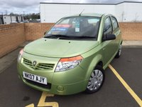 USED 2007 07 PROTON SAVVY 1.1 STREET 5d 75 BHP LOW MILEAGE ONE OWNER