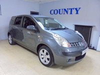 USED 2006 56 NISSAN NOTE 1.6 SVE 5d 109 BHP STUNNING CONDITION * MUST SEE