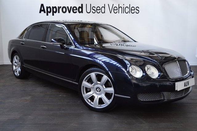 2005 55 BENTLEY CONTINENTAL FLYING SPUR 6.0 FLYING SPUR 5 SEATS 4d AUTO 550 BHP