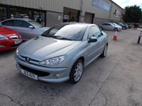 USED 2006 PEUGEOT 206 1.6 SPORT COUPE CABRIOLET 2d 108 BHP
