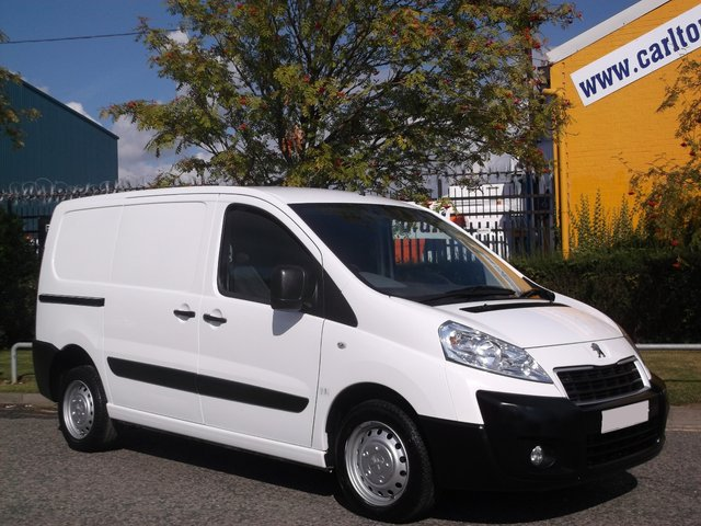 2012 12 PEUGEOT EXPERT 1000 L1H1 2.0HDI 136ps van Ex lease Free UK Delivery