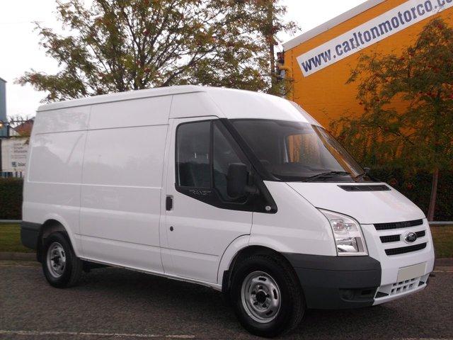2010 10 FORD TRANSIT 115 T330m Medium roof [ Mobile Workshop / Rear racking ] Fsh Free UK Delivery