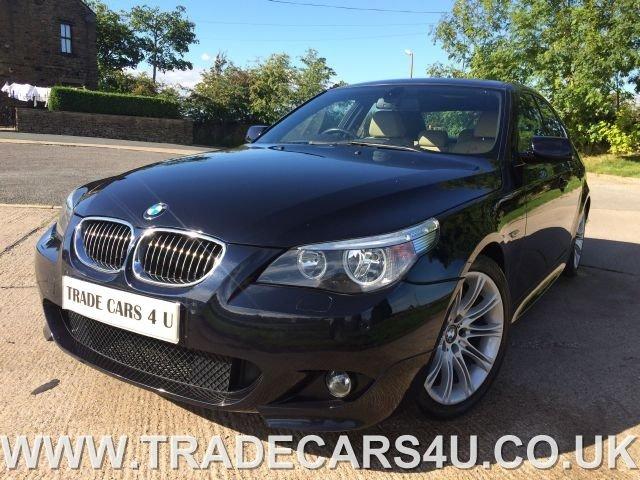 2005 05 BMW 5 SERIES 545I SPORT  4 DOOR SALOON AUTO