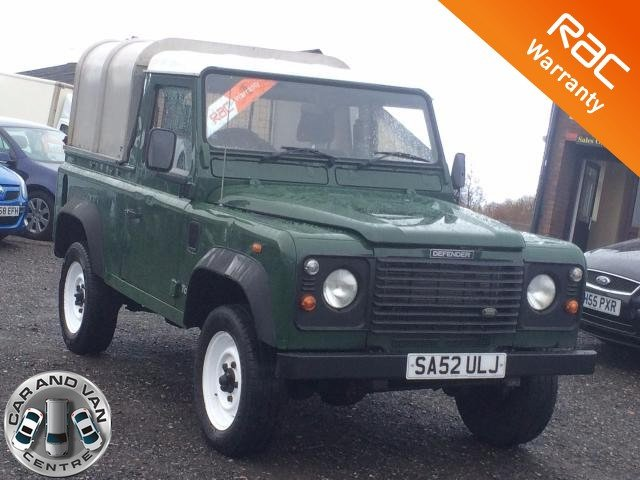 2003 52 LAND ROVER DEFENDER 90 2.5 TD5 PICK UP 5d 120 BHP