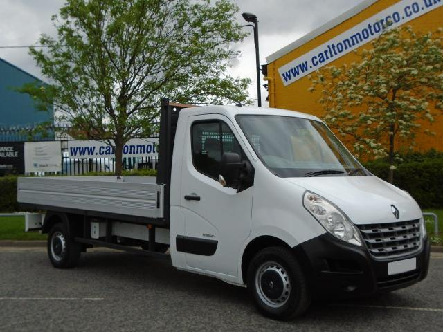 2011 11 RENAULT MASTER LL35Dci Dropside Pickup 12ft Lwb Alloy body MASSIVE SAVING NOW SAVE ££££