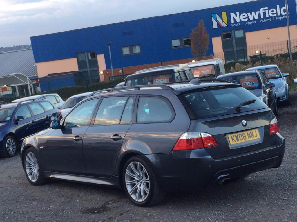 2008 BMW 5 Series 520d M Sport Touring £8,488