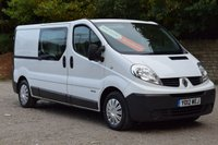 USED 2012 12 RENAULT TRAFIC 2.0 LL29 DCI S/R W/V 5d 115 BHP RAC APPROVED DEALER