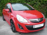 2012 VAUXHALL CORSA 1.2 LIMITED EDITION 3d 85 BHP £5250.00