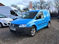 2010 VOLKSWAGEN CADDY 2.0 C20 PLUS SDI 5d  £SOLD