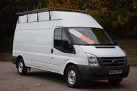 USED 2008 08 FORD TRANSIT 2.4 350 H/R 5d 100 BHP NO VAT TO ADD