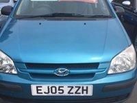 2005 HYUNDAI GETZ 1.3 GSI 5d 81 BHP £1400.00