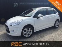 USED 2012 61 CITROEN C3 1.4 WHITE 5d *LOW MILES* LOW MILES+LOW INSURANCE GROUP
