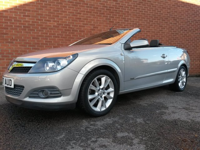 2007 07 VAUXHALL ASTRA 1.9 TWIN TOP DESIGN 3d 150 BHP