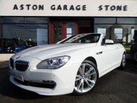 2011 BMW 6 SERIES 3.0 640i TURBO SE 2d AUTO 316 BHP * SAT NAV * HARD DRIVE * £25895.00