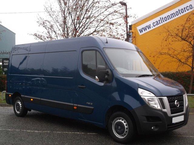 2013 63 NISSAN NV400 L3 H2 2.3 DCI SE [ SEMI AUTO ] Ex Lease Fsh Free UK Delivery