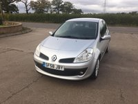 USED 2008 58 RENAULT CLIO 1.1 DYNAMIQUE 16V TURBO 3d 100 BHP