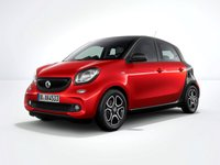 2017 SMART FORFOUR Passion  1.0 Manual (70hp) £136.16