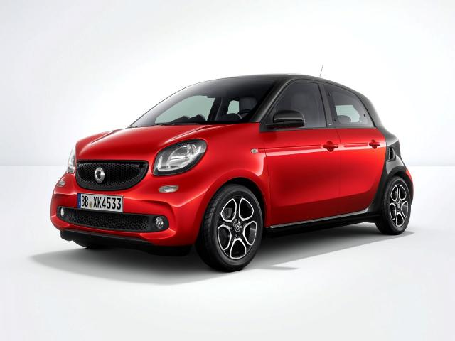 2018 68 SMART FORFOUR Passion  1.0 Manual (70hp)