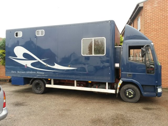 1998 IVECO-FORD CARGO 5.9 75E15 DAY HORSE BOX / CAMPER