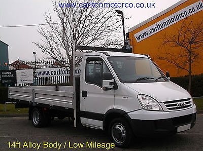2008 58 IVECO-FORD DAILY 35s14 xLwb Dropside 14ft [ New Build Alloy body ] Low mileage Free UK Delivery