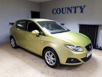 2009 SEAT IBIZA 1.4 SE 5d 85 BHP £2500.00