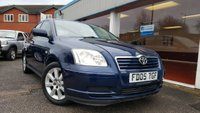 USED 2005 05 TOYOTA AVENSIS 1.8 T3-S VVT-I 5d 127 BHP MUST BE SEEN AND DRIVEN