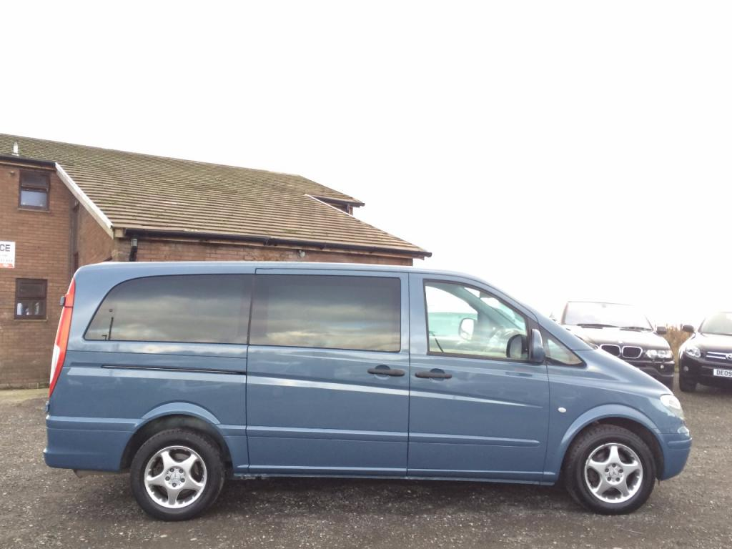 2004 MercedesBenz Vito 111 CDI Long Traveliner Swb