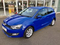 2013 VOLKSWAGEN POLO 1.2 MATCH 3DR HATCHBACK 59 BHP £6298.00