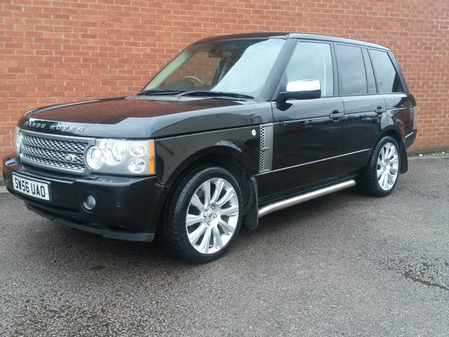 2006 56 LAND ROVER RANGE ROVER 2.9 TD6 VOGUE SE 5d AUTO HUGE SPEC
