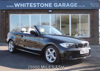 2013 BMW 1 SERIES 2.0 118D EXCLUSIVE EDITION 2d 141 BHP £14995.00