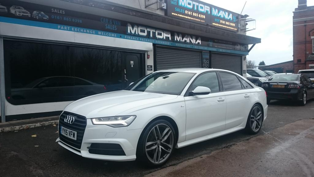 2015 Audi A6 TDI Ultra S Line Black Edition £29,595