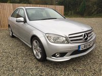 USED 2010 10 MERCEDES-BENZ C CLASS 3.0 C350 CDI BlueEFFICIENCY Sport 4dr