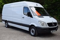 USED 2012 12 MERCEDES-BENZ SPRINTER 2.1 313 CDI LWB 5d 129 BHP RAC APPROVED DEALER