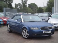 USED 2003 03 AUDI A4 2.5 TDI Sport 2dr LEATHER+17