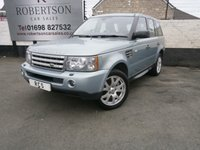 2008 LAND ROVER RANGE ROVER SPORT 3.6 TDV8 SPORT HSE AUTO 5dr  £14480.00