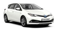 2018 TOYOTA AURIS 1.8L Hybrid Icon Tech Auto £209.63